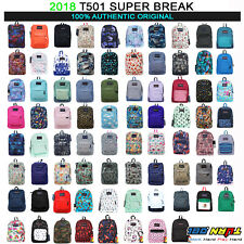 2018 JANSPORT T501 Superbreak BACKPACK Student School Bag 100% AUTHENTIC
