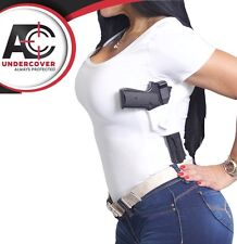AC UNDERCOVER Concealment Scoop Neck T-Shirt Holster. Concealed Carry Shirt 211