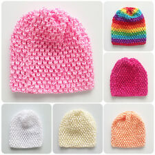 New Cute Baby Toddler Kids Boys Girls Knitted Crochet Beanie Hat Cap Casual