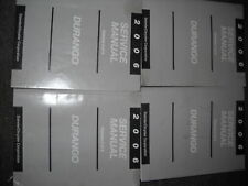 2006 DODGE DURANGO TRUCK SUV Service Repair Shop Workshop Manual Set FACTORY