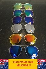 Large Mirror Lens Polarized Aviator Free Postage Oversize Sunglasses