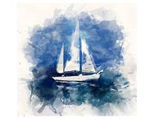 Custom Made T Shirt Beautiful Sailboat Scene Water Ocean sky Gorgeous