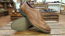 Delicious Junction // Sedgwick // Womens Tan Brogues Shoes // NEW