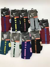 Custom Nike Elite Basketball Socks New Select Color and Size Cushioned Crew