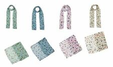 Ladies Butterfly Print Soft Long Light Chiffon Scarf Shawl Wrap  Scarves Stole