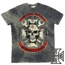 West Coast Choppers T-Shirt Mechanic Biker Custom - S M L XL XXL 3XL
