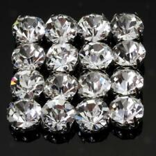 40pcs Loose Faceted Sew On Rhinestone Beads for Jewelry Making Findings Crafts