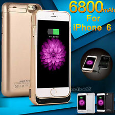 Rechargeable External Battery Backup Charger Case Cover Pack Bank for iPhone 6S