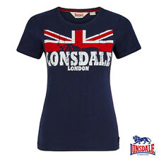 Lonsdale Women T-Shirt Erykah Ladies' Top Top London UK XS S M L XL NEU