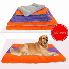 Extra Large Size Fleece Pet Dog Cat Puppy Bed Mat Pad Kennel Cushion House TY