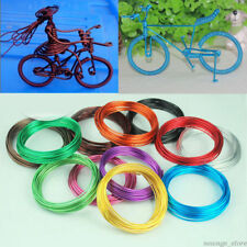 5M/Roll Aluminum Wire 1mm Beading Jewelry Making Wrap Art Craft DIY Tool Colours