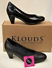 Klouds shoes - Orthotic friendly comfort leather heels Unity