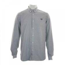 Fred Perry Mens Three Colour Shirt (Light Blue)
