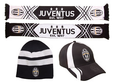 NEW Official Juventus Scarf, Cap and Beanie (Individual or Combinations)