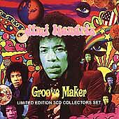 JIMI HENDRIX GROOVE MAKER LIMITED EDITION 3 CD COLLECTERS SET NEW & SEALED