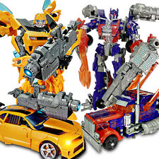 Dark of the Moon Transformers 4 Optimus Prime Car Action Figures Toy Bumblebee