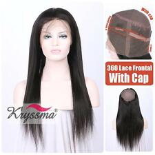 360 Remy Human Hair Lace Frontal Silky Straight Brazilian Virgin Hair Closures