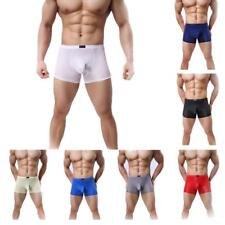 Sexy Men's Soft Underwear Penis Cover up Pouch Cozy Shorts Stretchy Boxer Briefs