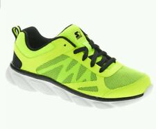 Starter Youth Boy's Black/Lime Lightweight Running Athletic Sneakers/Shoes:13-6
