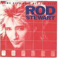 """Rod Stewart-Some Guys Have All The Luck 7"""" 45-Warner Bros. Records, W 9204, 1984"""