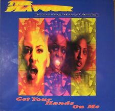 """Flavour Feat Daryll Pandy-Superfly / Get Your Hands On Me 12""""-JIVE, JIVET 363, 1"""