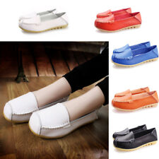 Womens Casual Moccasins Leather Shoes Ballet Loafers Flats Oxfords Comfortable