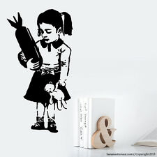 Banksy Images Style Wall Decals Graffiti artist Banksy Popular Wall Decals