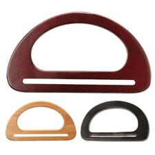 Wooden Purse Bag Handle Parts Accessories Wood Frame Handle Wooden Bag Handles