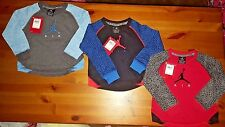 NIKE AIR JORDAN LONG SLEEVE TODDLER BOYS LONG SLEEVE SHIRT ALL SIZE ALL COLORS