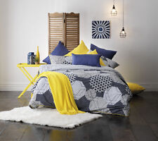 Galaxy Navy Quilt Cover Set by Bianca Double | Queen | King | Super King
