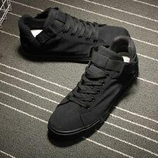 Mens Boys Canvas Sneakers Casual Sports Skate Trainer Lace Up Ninja Shoes Boots