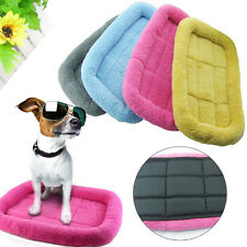 Soft Warm Pet Dog Puppy Cat Sleeping Bed Nest Cushion Mat Pad Blanket Kennel