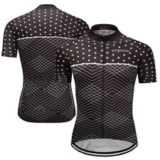 Mens Bicycle Short Sleeve Cycling Jerseys Outdoor Sports Bike MTB Clothing Wear