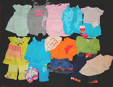 HUGE LOT GIRLS SPRING SUMMER CLOTHES NAARTJIE CRAZY 8 GAP GYMBOREE 9 mo 6-12 mo