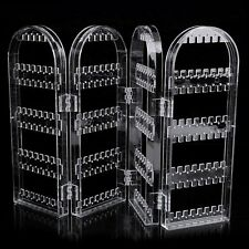 Creative Plastic Folding Screen Earring Jewelry Display Stand Holder Rack A^^