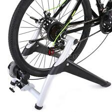 NEW EXERCISE BICYCLE TRAINER MAGNETIC 6 LEVELS RESISTANCE STAND STATIONARY J7A2