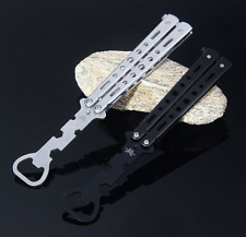 Knife SAFE Butterfly Flash Bottle Opener Train Practice Flipping Training Tool