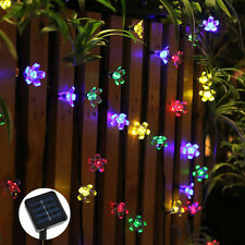 Solar-Powered 7M 50LED String Fairy Garden Light outdoor Party String Fairy Lamp