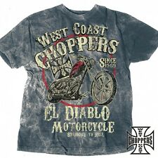 West Coast Choppers T-Shirt El Diablo Biker Custom - S M L XL XXL 3XL