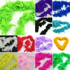 Hot New Fluffy Feather Boa Dressup Hen Party Wedding Club Stage Show Dress Decor
