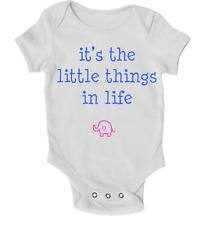 Its the Little Things in Life Baby Grow