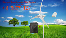 M 500W Wind Turbine Generator and 600w controller Kit DC12 or 24V