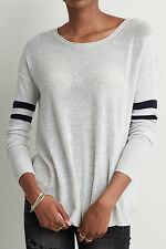 NWT American Eagle Ahh-mazingly Soft Sweater, XXL, Gray, Crew neck, Easy Fit