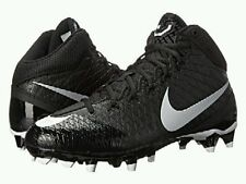 NIKE CJ3 PRO TD FOOTBALL CLEATS-BRAND NEW-BLACK-SIZE 10-CALVIN JOHNSON