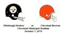 Pittsburgh Steelers at Cleveland Browns -  Oct. 7, 1979 -   FULL NFL GAME DVD
