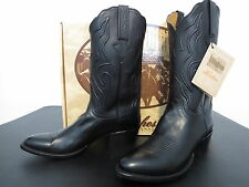 Lucchese Classics Mens Signature Cord Black Glove Calf Boot L1550 NIB 10.5 D