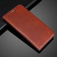 Genuine Real Leather Case Flip Card Wallet Cover For Samsung Galaxy S7/S7 Edge