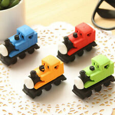 Cute Train Shape Erasers Novelty Fun Kids Rubbers Party Gift Bag Fillers Thomas