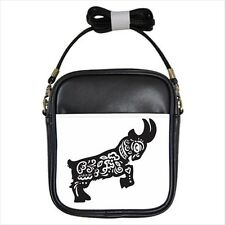Year of The Goat Chinese Zodiac Girls Leather Cross body Sling Bag