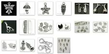 Silver Plated Metal Charms Pendants Findings  #2